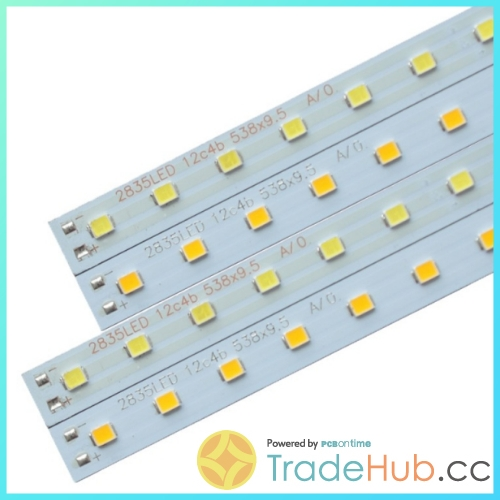 Rigid pcb assembly aluminum base smd 2835 led strip light