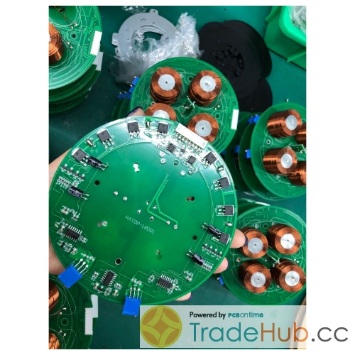 PCB assembly for record player