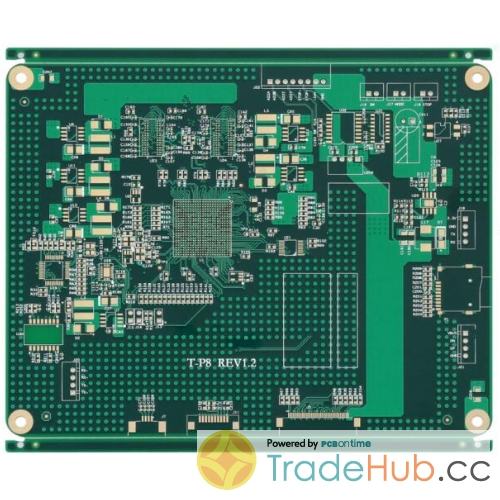 Industrial Control PCB TG170 Impedance Control ML10 PCB