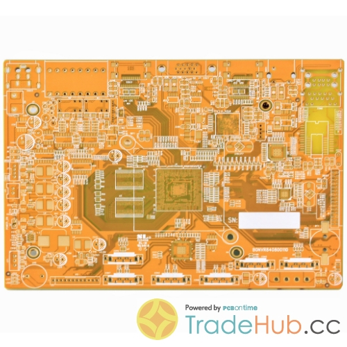 Security Surveillance PCB Middle TG Yellow Color ML4 PCB