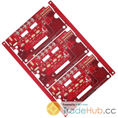 Industrial Control PCB Heavy Copper Via in Pad ML4 PCB