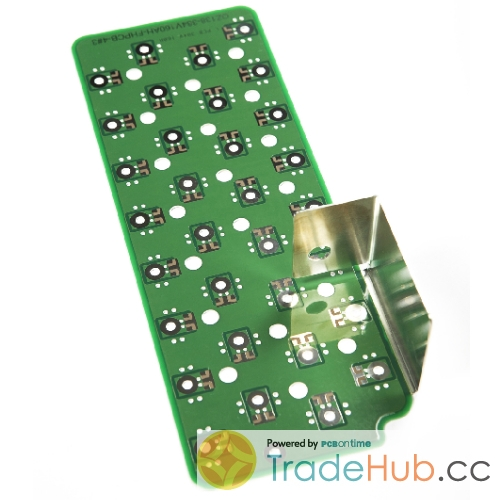 Automotive new energy battery PCB Copper Base Tin Plating Deep Milling