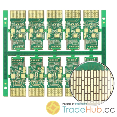 ENEPIG + Hard Gold Plaing Halogen Free PCB for Optical Module