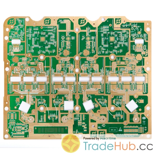 High Frequency PCB PTFE 370HR for Telecom