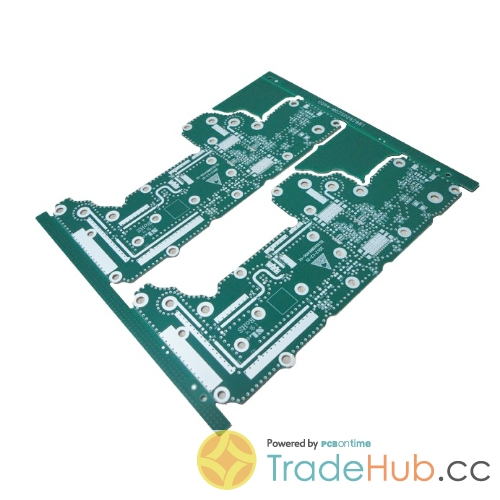 Immersion Silver PCB High Frequency Rogers (RO4350B) for Telecom