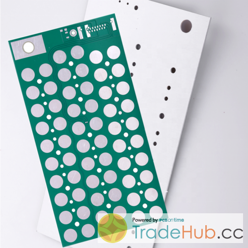 Aluminum base PCB HASL Lead Free Green Color PCB