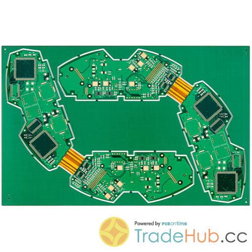 Rigid-flex PCB Megtron6 Polyimide ML10 PCB