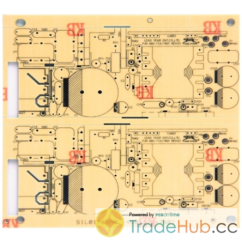 Single-sided pcb with CEM-1 CEM-3 material